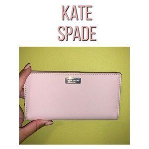 Late Spade Light Pink Wallet